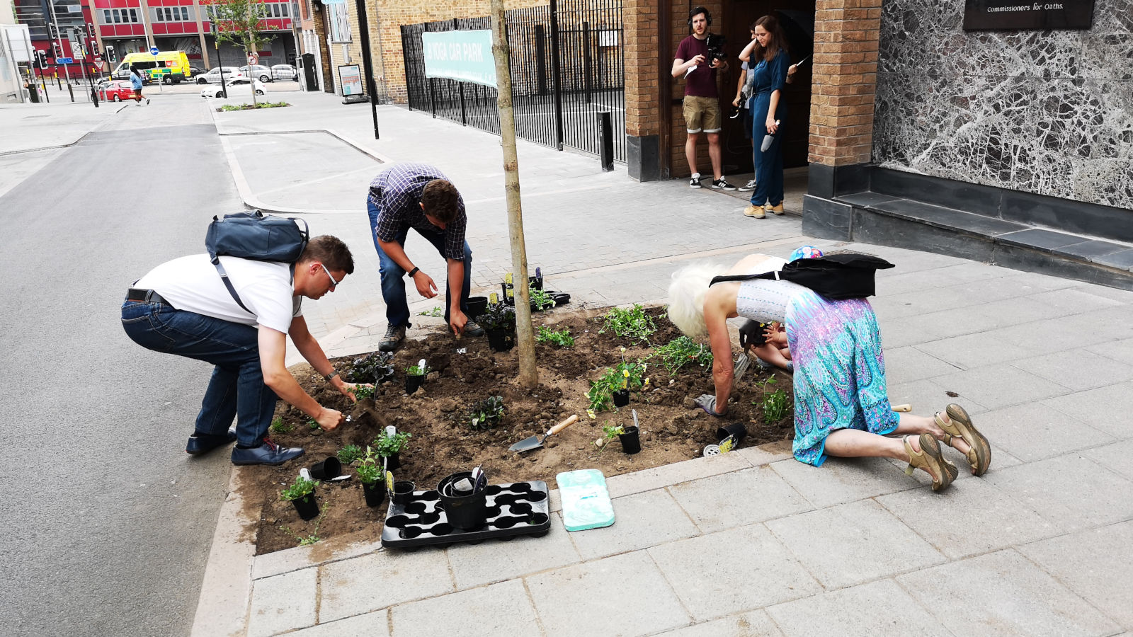 Leicester Greyfriars Heritage Initiative - Events - Greening Greyfriars
