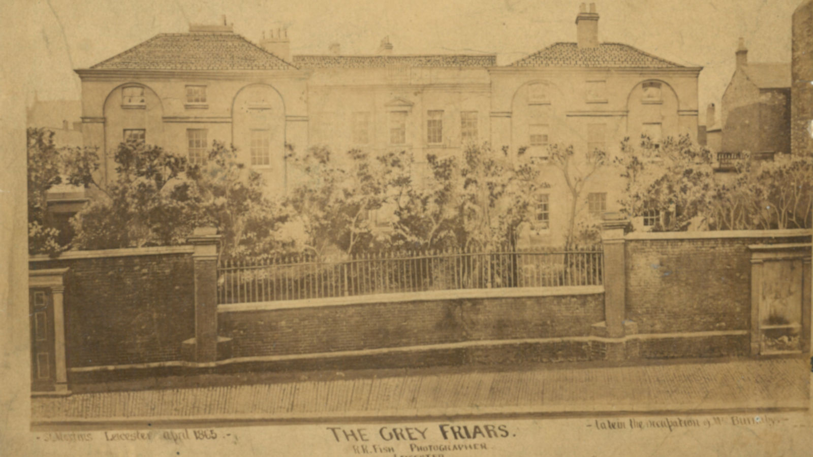 Leicester Greyfriars Heritage Initiative - History - Grey Friars Mansion