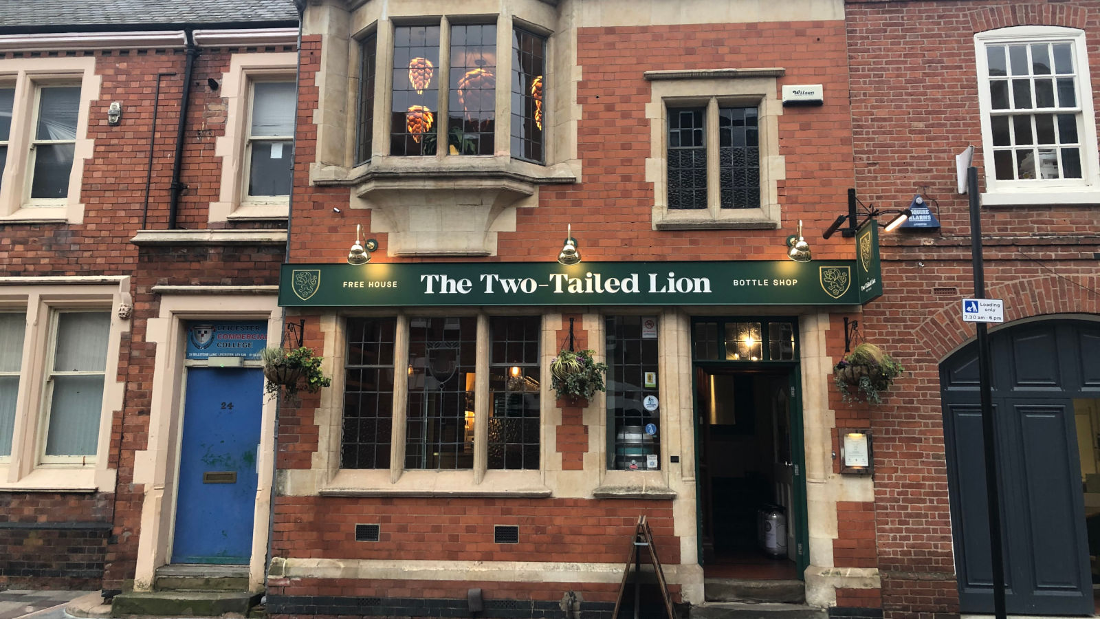 Leicester Greyfriars Heritage Initiative - Restoration - The Two Tailed Lion, 22 Millstone Lane