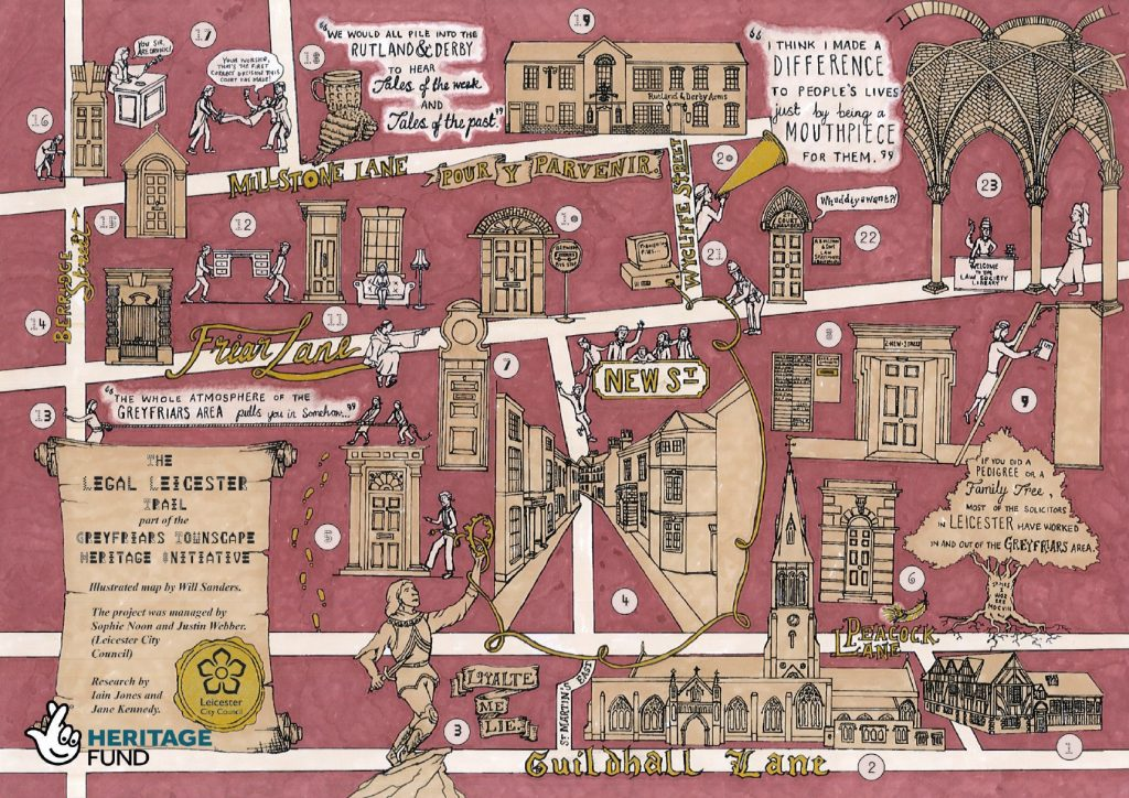 Legal Leicester Walking Tour - Greyfriars Townscape Heritage Initiative